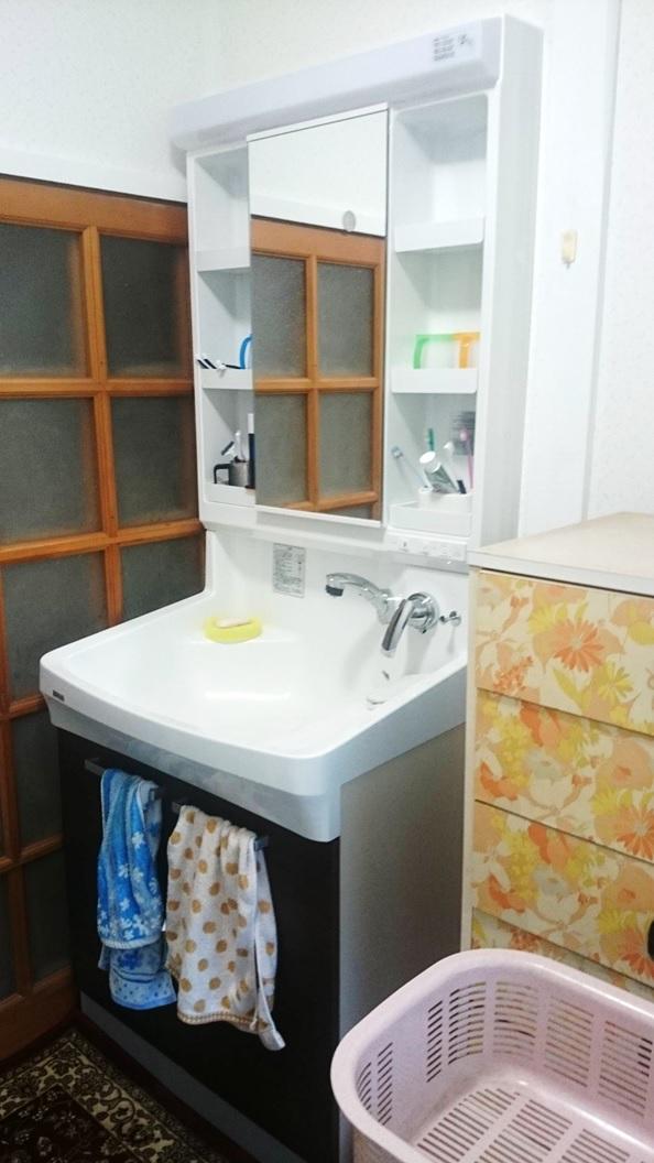 洗面所のリフォーム事例