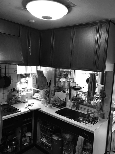千葉県印旛郡 キッチン リフォーム|デットスペースが多いキッチンを間取り変更