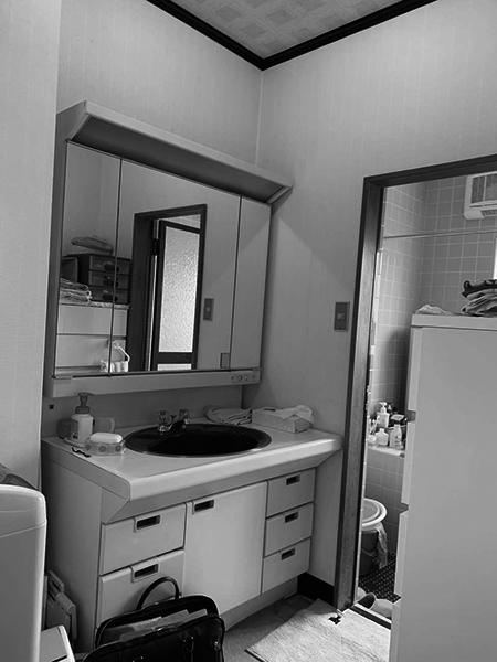 茨城県神栖市 洗面台・お風呂リフォーム 段差を無くし安全性の高いバリアフリーに