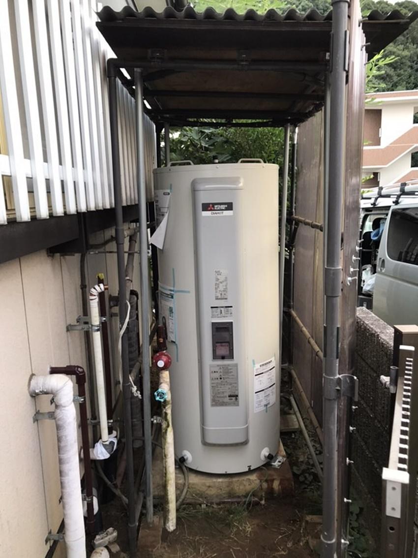 千葉県成田市電気温水器リフォーム 配管のつまりや故障が解消!