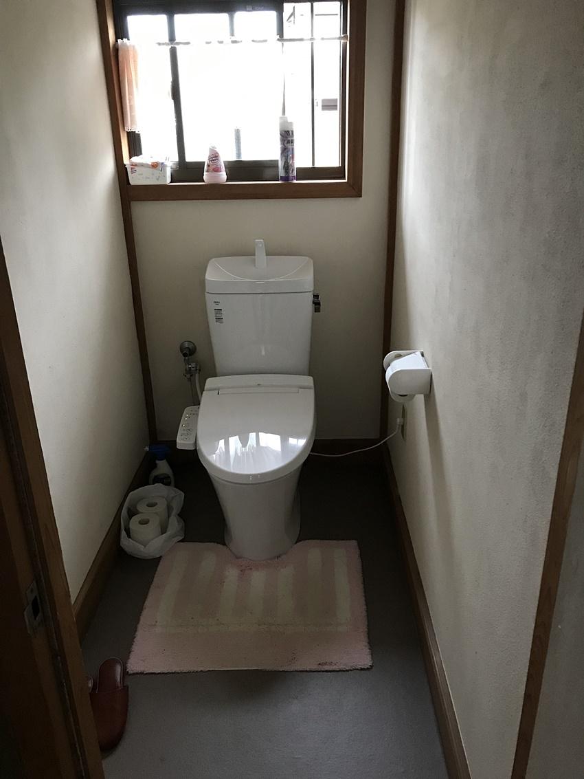 千葉県匝瑳市トイレリフォーム|リフトアップで隅々まで掃除できるアメージュZに