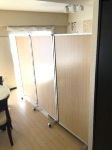 茨城県つくば市 室内ドア|簡易間仕切りで代用していた空間をドアで個室へリフォーム