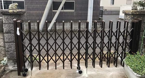 千葉県香取市 カーポートリフォーム 台風で破損した門扉とカーポートを修繕