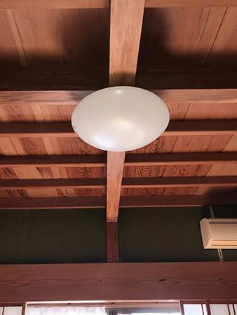 茨城県稲敷市 照明リフォーム|雨漏りで点かなくなった電気をLED照明へ交換