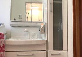 洗面所の事例