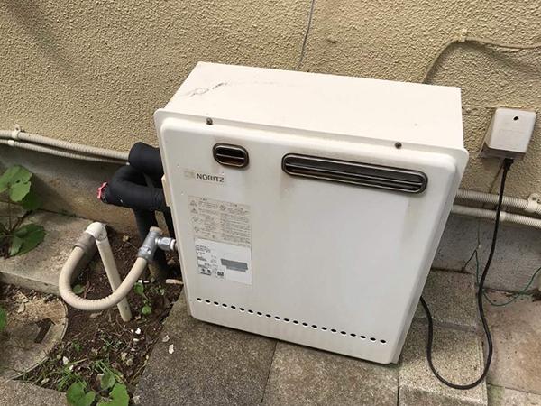 千葉県富里市 給湯器|お風呂リフォームと同時に経年劣化のあった給湯器を交換