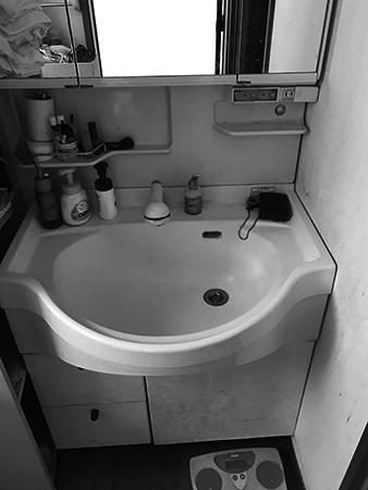 千葉県富里市 洗面台リフォーム|丈夫なものというご希望でタカラのオンディーヌをご提案