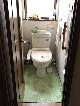 千葉県成田市 トイレリフォーム|水漏れしてしまうトイレを交換して一新