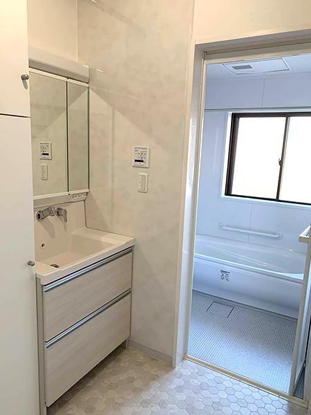 お風呂と洗面所のリフォーム