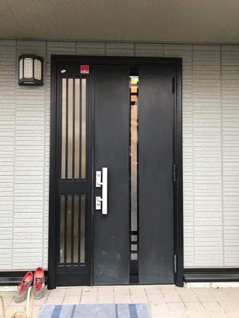 茨城県つくば市 玄関リフォーム|1day玄関リフォーム明るい印象の玄関へ