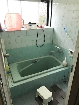 千葉県八街市お風呂リフォーム|約15年使っている給湯器も交換