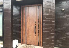 千葉県佐倉市増改築リフォーム|玄関ドア