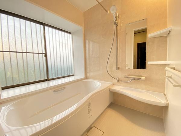清潔感のあるお風呂のリフォーム