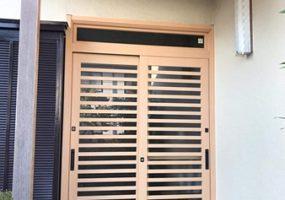 茨城県龍ヶ崎市玄関ドアリフォームアフター写真