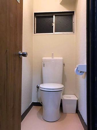 トイレをリフォーム