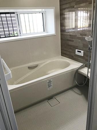 シンプルなお風呂