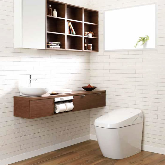 リクシルの節水型トイレ