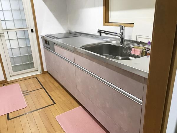茨城県龍ケ崎市キッチンリフォーム|ガスコンロをIHに