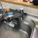 茨城県牛久市キッチン水栓給湯器リフォームアフター写真1
