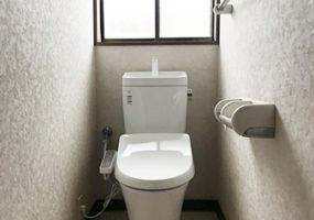 千葉県成田市トイレ階段手すりリフォームアフター写真1