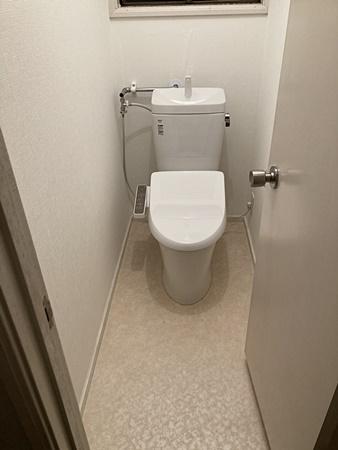 千葉県佐倉市トイレリフォーム|きれいな節水タイプに!