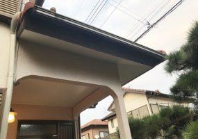 千葉県富里市軒天修理アフター写真1