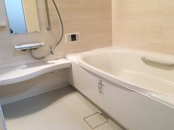 茨城県土浦市浴室・洗面所リフォーム|赤ちゃんのために