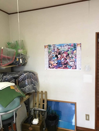 千葉県佐倉市居間リフォーム|壁と天井のクロスを交換!