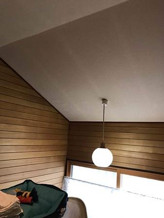 千葉県佐倉市居間リフォーム 壁と天井のクロスを交換!