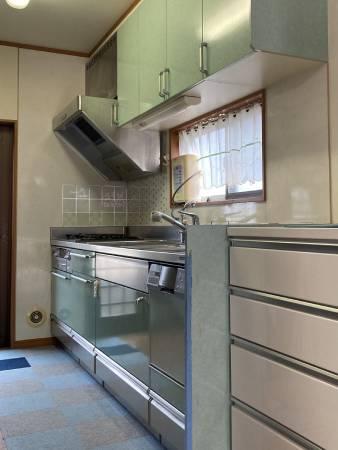茨城県つくば市キッチンリフォーム|IH・レンジフード交換