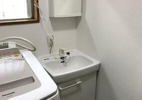 洗面化粧台の事例