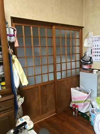 千葉県香取市内装リフォーム|敷居の改修工事