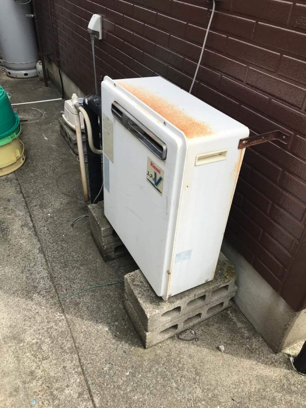 千葉県山武郡小工事リフォーム|ガス給湯器の交換