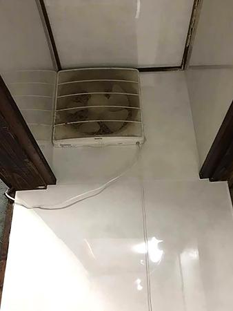 千葉県香取市キッチンリフォーム 換気扇付近にもキッチンパネルを