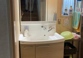 千葉県印旛郡洗面台玄関リフォームアフター988写真