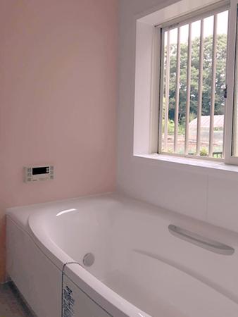 千葉県大網白里市ユニットバスリフォーム お風呂を綺麗にし断熱性UP
