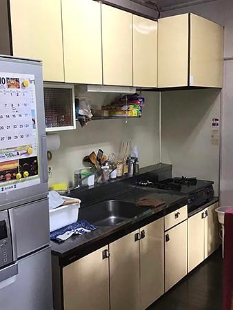 茨城県取手市キッチンリフォーム|ステディアで収納力もUP