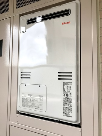 千葉県成田市給湯器リフォーム 交換工事事例