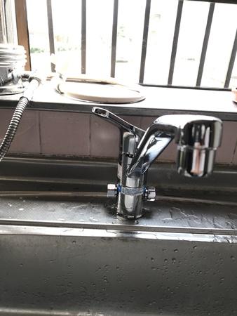 千葉県八街市水栓リフォーム|キッチン蛇口交換
