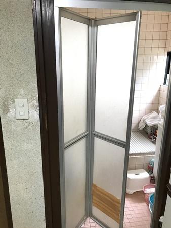 千葉県佐倉市ドアリフォーム|浴室とトイレのドア交換