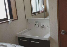 茨城県牛久市洗面台リフォームアフター374写真